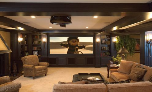 Renovating a Family Room into a Home Theater | Audioholics