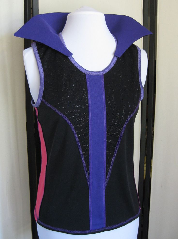 Maleficent Running Costume Disney Villain - Top Only by Needlemaiden on Etsy https://www.etsy.com/listing/196580400/maleficent-running-costume-disney