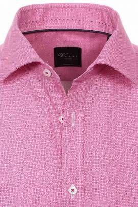 Venti Hemd | Casual Hemden mit Muster | Druck pink weiß - Bild vergrößern
