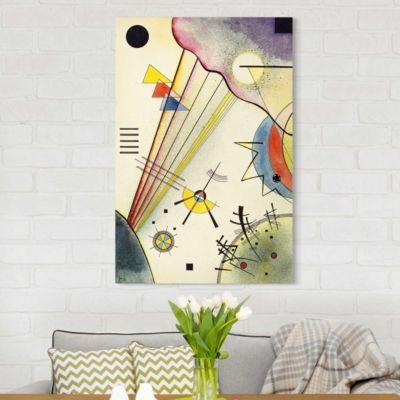 Leinwandbild Wassily Kandinsky - Kunstdruck Deutliche Verbindung - Expressionismus 150x100x2-170.00-LB-3-2 Jetzt bestellen unter: https://moebel.ladendirekt.de/dekoration/bilder-und-rahmen/poster/?uid=eba309ee-088f-5807-823a-6c1dbdf0187e&utm_source=pinterest&utm_medium=pin&utm_campaign=boards #heim #bilder #rahmen #poster #dekoration