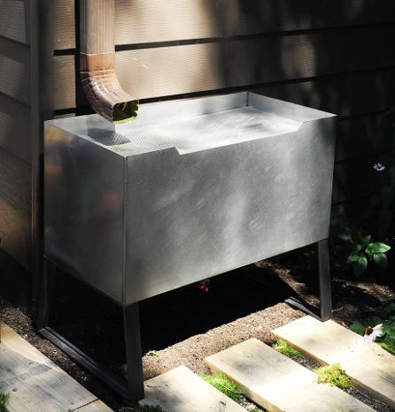 Edgewater Rain Container - An Innovative, Contemporary Rain Barrel ...