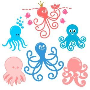 Dancing Octopus Sea Cuttable Design Cut File. Vector, Clipart, Digital Scrapbooking Download, Available in JPEG, PDF, EPS, DXF and SVG. Works with Cricut, Design Space, Sure Cuts A Lot, Make the Cut!, Inkscape, CorelDraw, Adobe Illustrator, Silhouette Cameo, Brother ScanNCut and other compatible software.