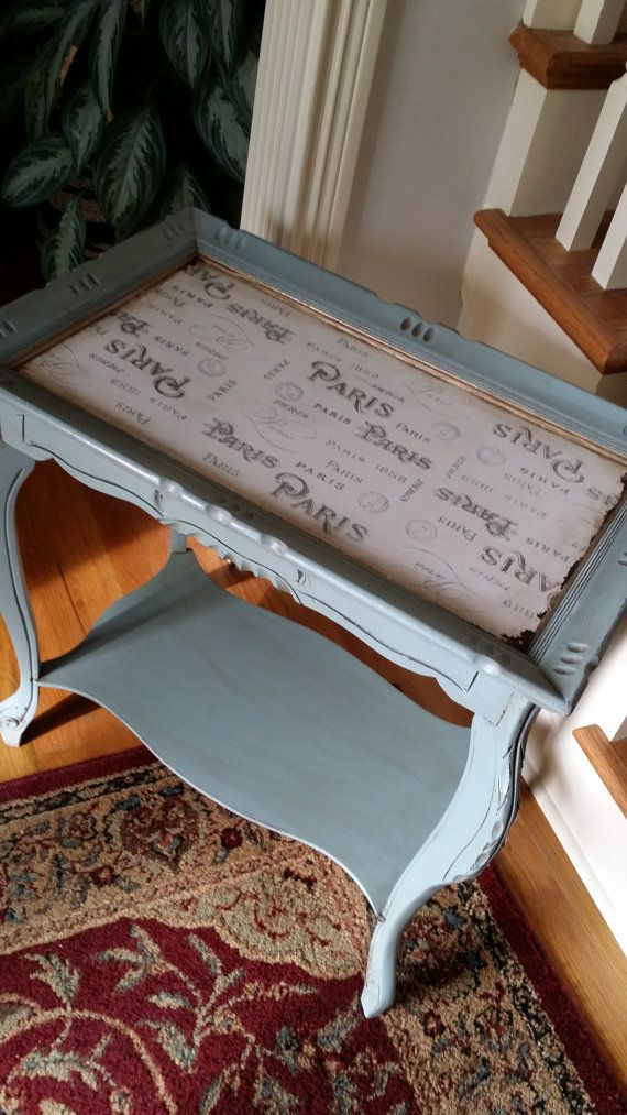 Pair of Antique End Tables Bedside Tables Accent by ReDonebyDee