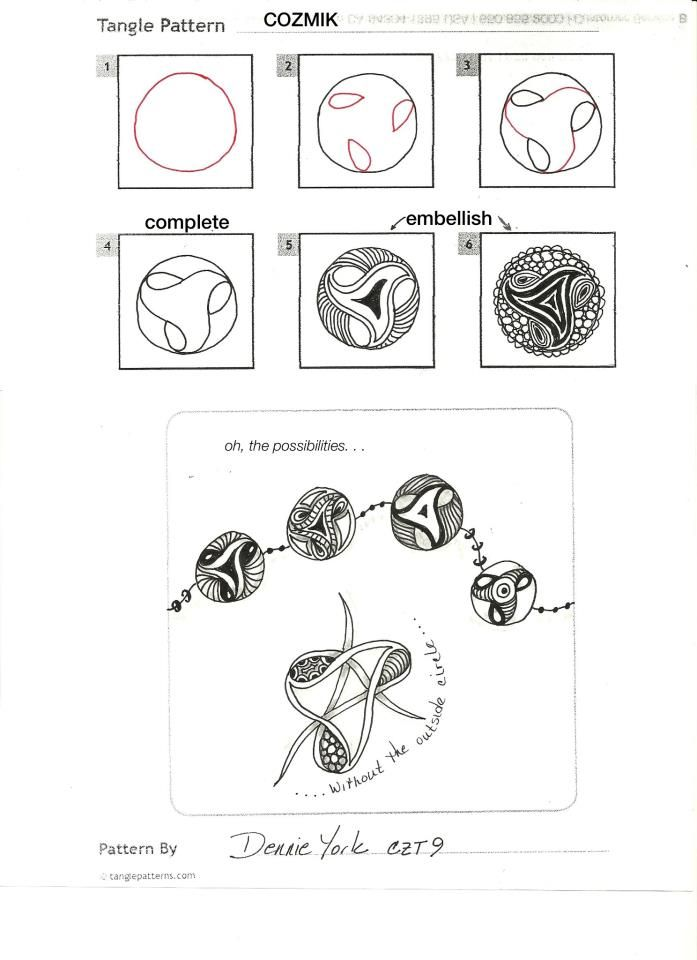 Weekly Zentangle Roundup | Tangle Harmony