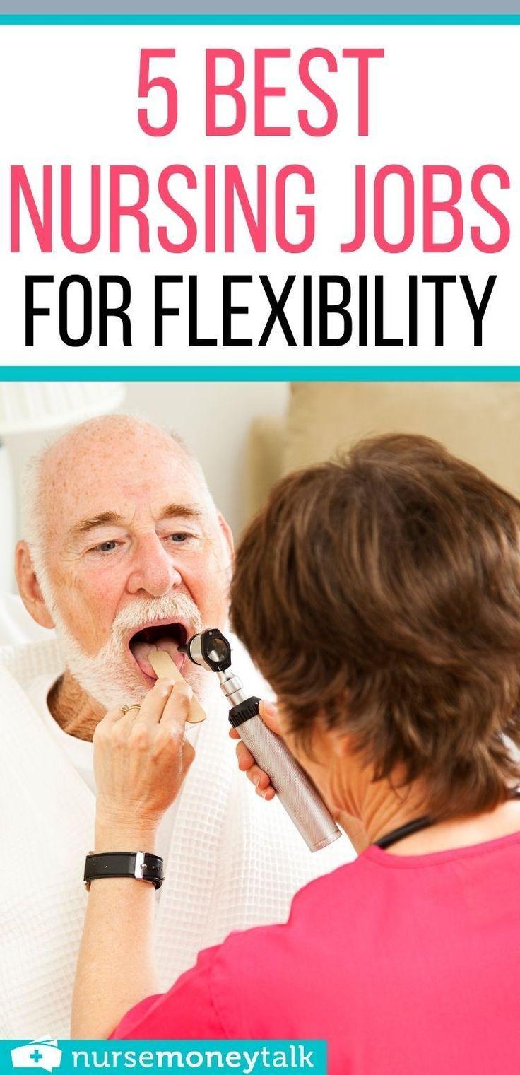 5 best nursing jobs for flexibility nurse money talk in