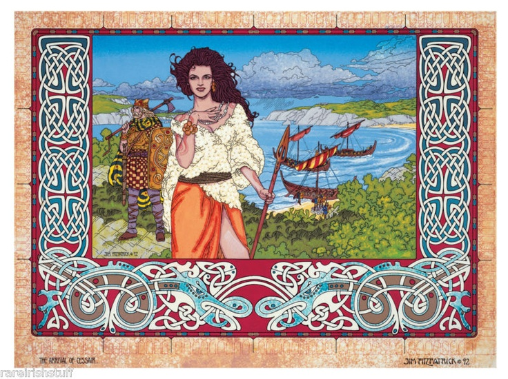 Details About Jim Fitzpatrick Irish Folklore Artist