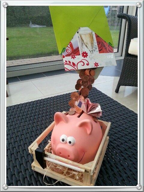 Leuke manier om geld te geven ;) ... makkelijk zelf te maken .
