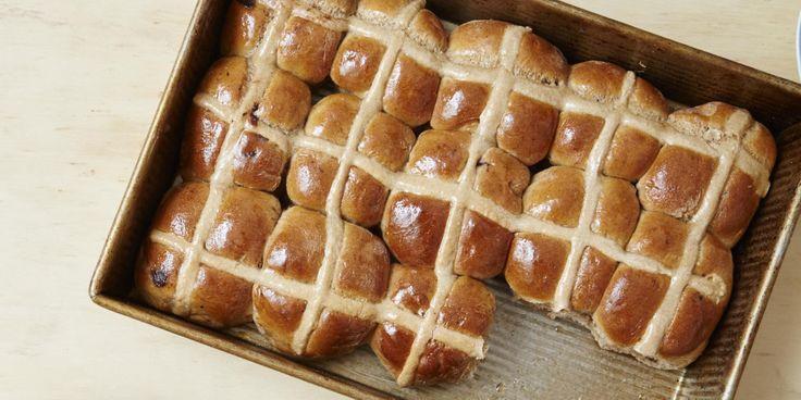 I Quit Sugar: Choc Chip Hot Cross Buns Easter recipe