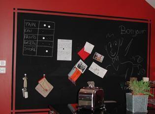 Pintura de pizarra magnética y tiza imantada. : x4duros.com