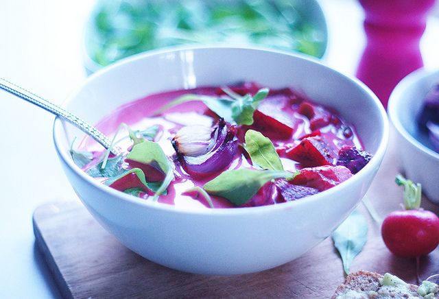 Pink coconut soup by run_olya_run, via Flickr