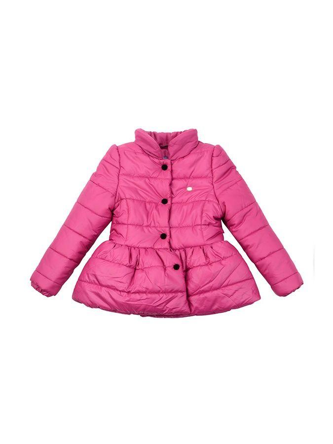 Куртка для девочки, Коллекция Pop Art Удобная куртка для девочки бордового цвета. Наполнитель холлофайбер - гипоаллергенный, обладает очень хорошими теплоизоляционными свойставми. Изделия из него удобны в носке и уходе. Куртка рассчитана на температуру до -5градусов. Состав: 100% полиэстер. Холлофайбер. Подкладка - поливискоза.