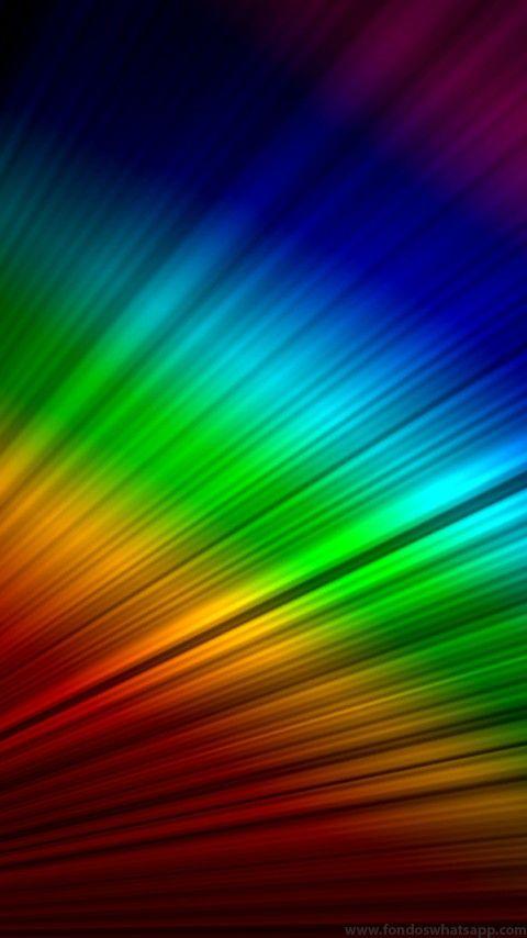 Fondo WhatsApp Rainbow