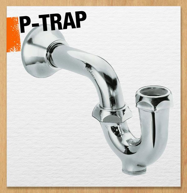The P Trap Is Part Of Your Drain Pipe Usually Under A