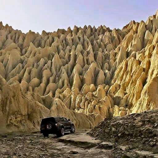 #TOPakistan Amazing landscape at Phachri, Balochistan, Pakistan.
