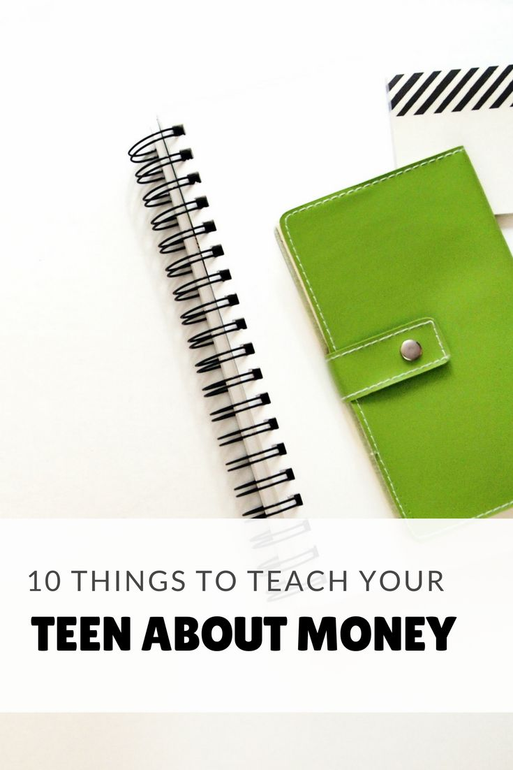 10 Things to Teach Your Teen About Money-- Most schools do not teach personal finance, so as parents its our  responsibility to teach our teenagers this valuable life skill. Talk to your children early about income, taxes, credit, banking, identity theft protection, insurance, saving, retirement, and investing.