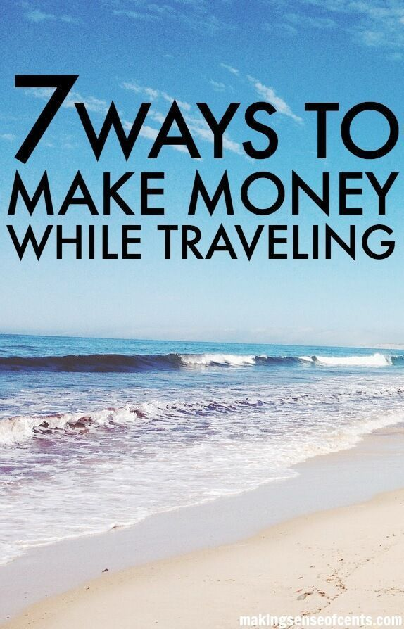 How To Make Money While Traveling. Being location independent can be a great thing, but for most you do have to earn a living somehow so that you can support yourself. Many cannot just travel for months or years at a time without making any money.