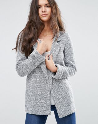 1 ASOS Textured Longerline Jacket
