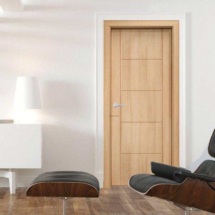 Vancouver Ledro Oak Composite Fire Doorset with 135mm Broad Frame. #internalfiredoor #internalenduradoor #enduradoorfiredoor