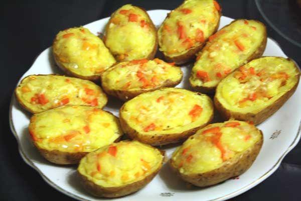 Рецепт-Картофельные лодочки   Детская еда