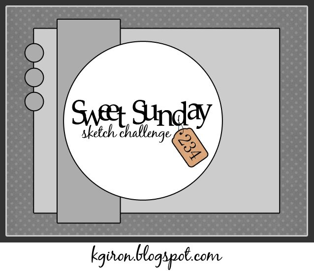 Sweet Sunday Sketch Challenge 234