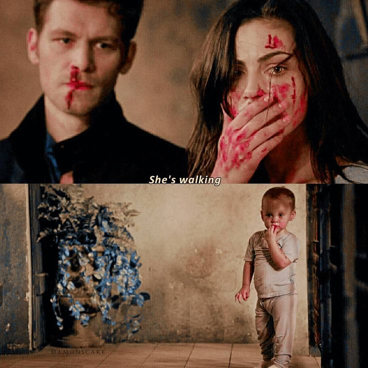 "That was a powerful scene. Klaus, Hayley and their daughter Hope - ""The Originals"""