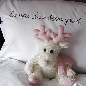 'Santa I've Been Good' Christmas Pillowcase
