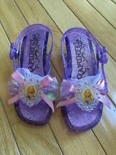 Disney Store Rapunzel Tangled Dress Up Shoes Size 11/12