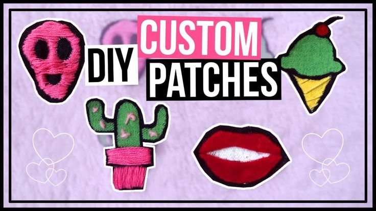 DIY Custom Embroidered Patches | How To Make Your Own Patches Out of Denim  In this video you get to learn how to make custom patches and they are really easy to make.