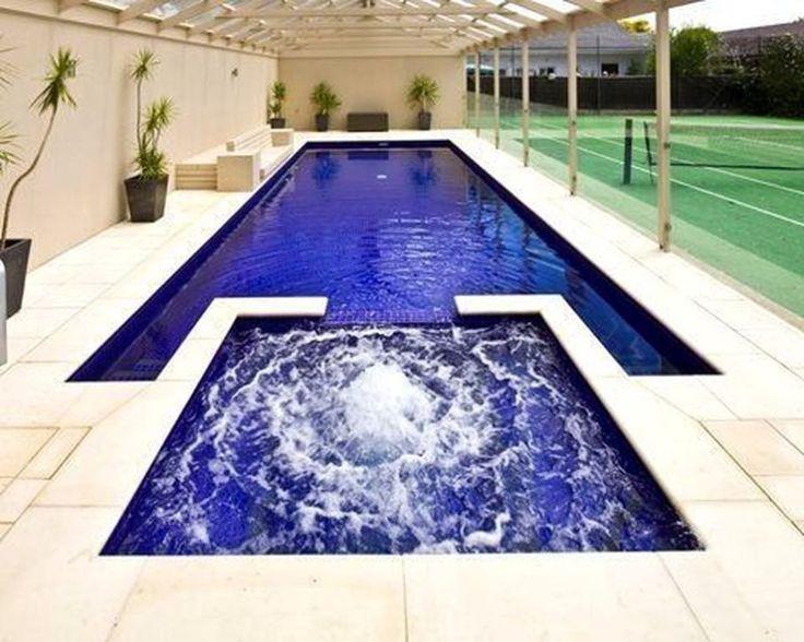 30+ O melhor design moderno de piscinas para sua casa   – swim spa ideas
