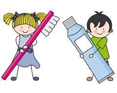 Resultado de imagen para lavado de dientes caricatura