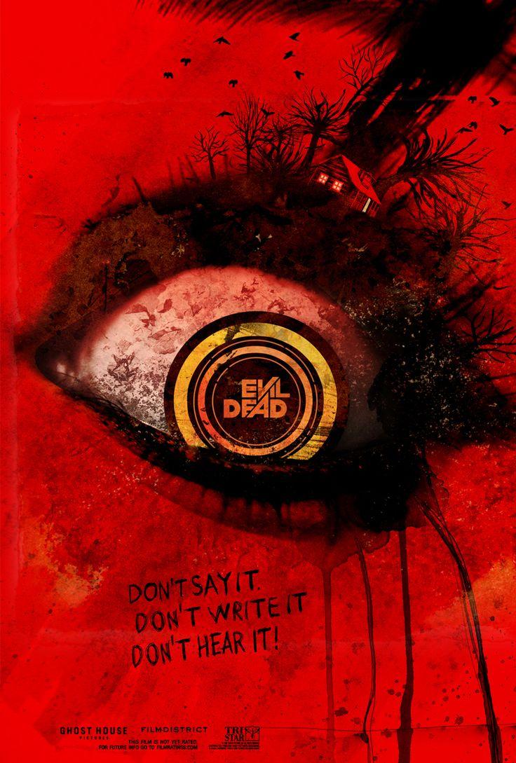 Evil Dead (2013) - poster by Laz Marquez