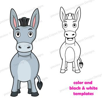 Puppet Donkey Craft Printable Paper Bag Puppet Template Sunday