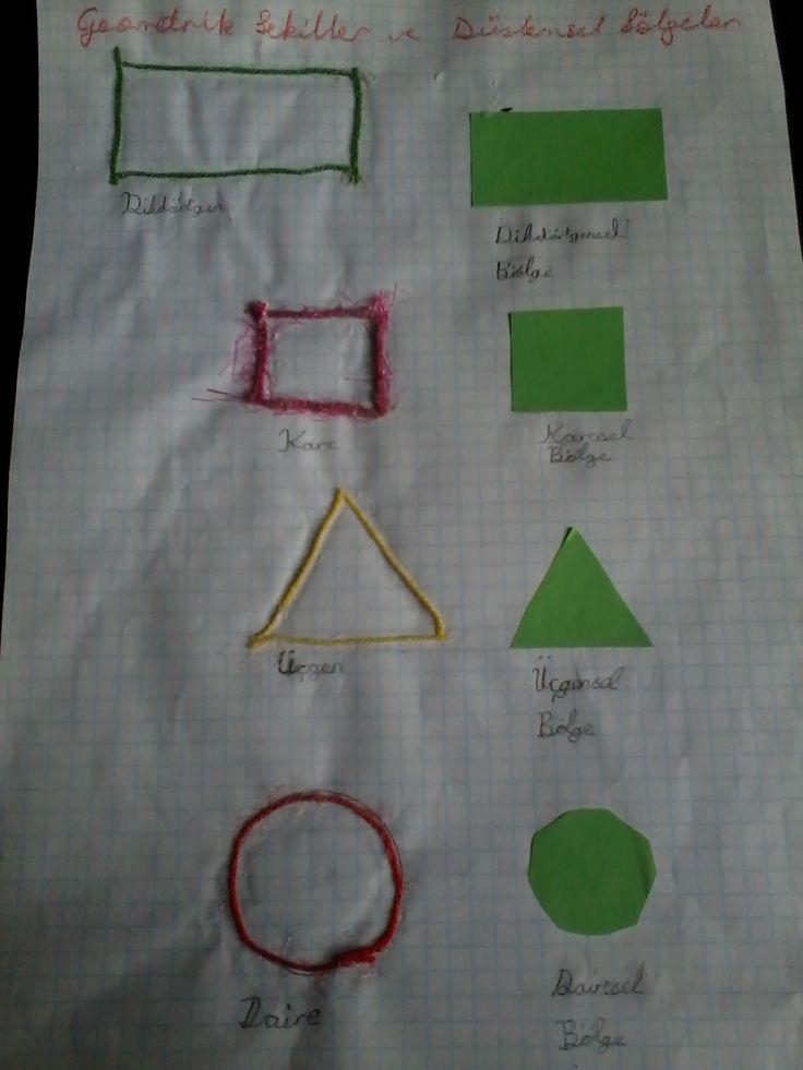 Geometrik Şekiller ve Bölgeler 1