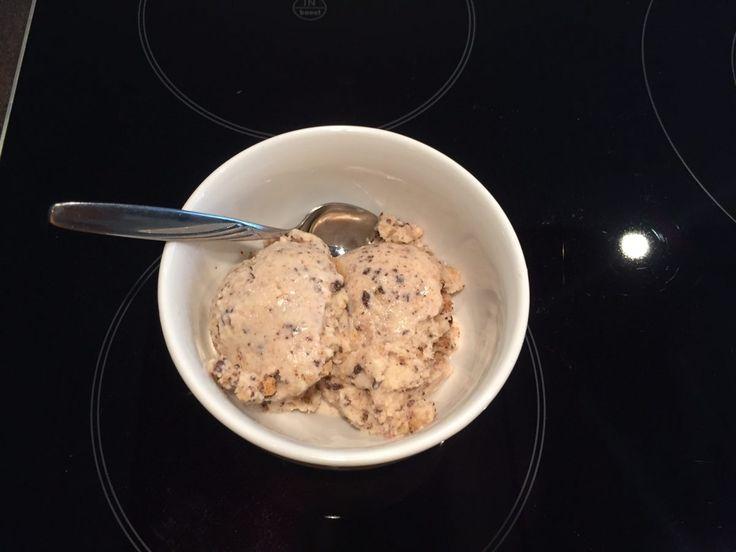 Thermomix TM5 Rezept: Crunchy Cookie Eis