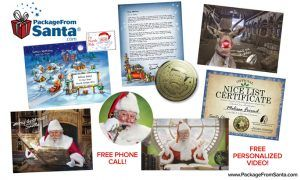 A Video and Personalized Call from Santa - Package from Santa 25% Off Promo Code