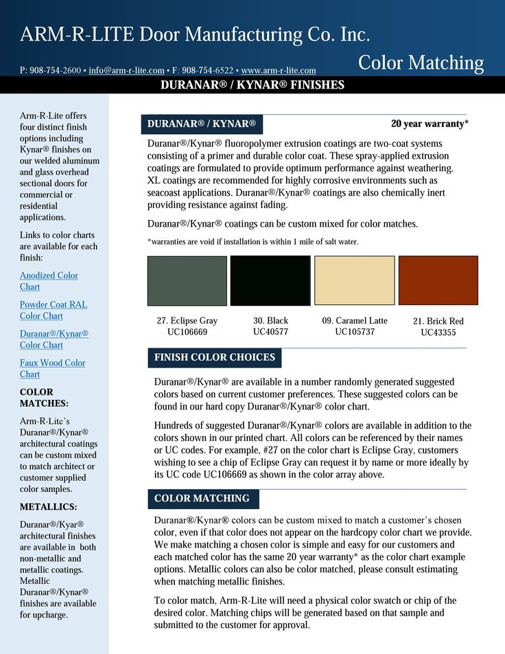 Duranar Coatings Color Chart Related Keywords & Suggestions