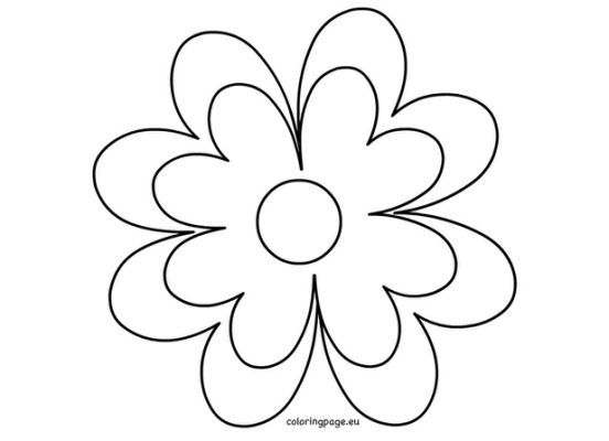 12 best fake flowers images on pinterest fake flowers printable flower template crafts pronofoot35fo Gallery