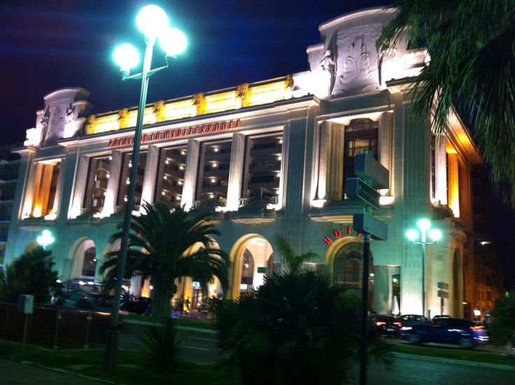 Casino Partouche Palais de la Mediterranée , город Nice, PACA