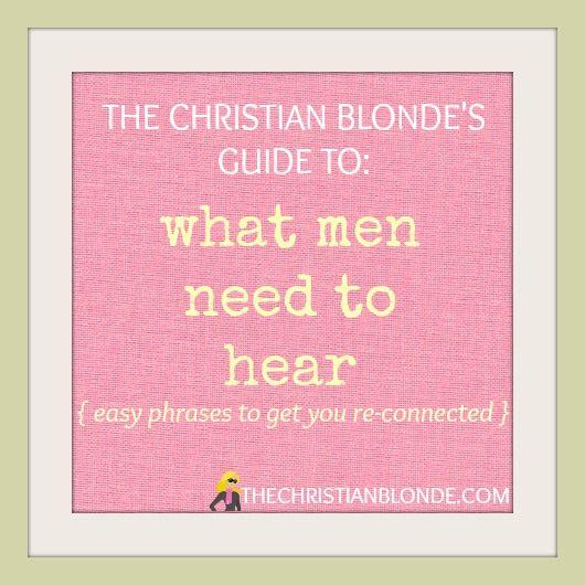 What boyfriends love to hear