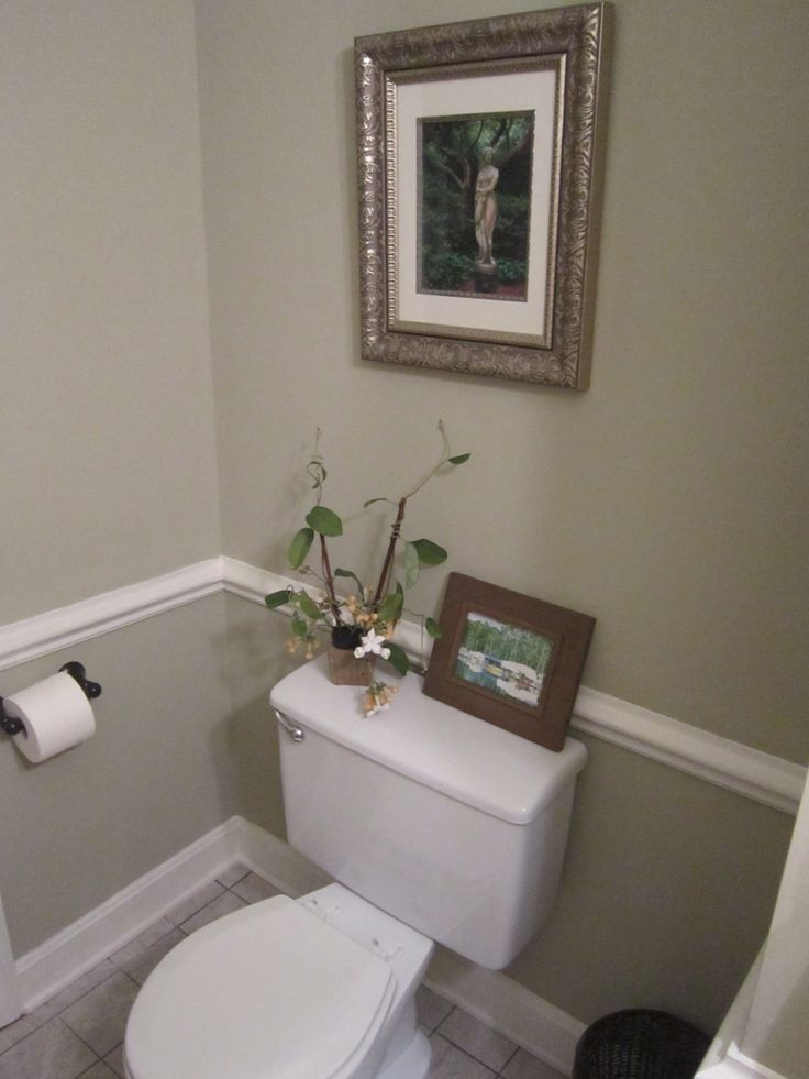 Half bath after paint valspar lyndhurst castle sand Valspar interior paint colors