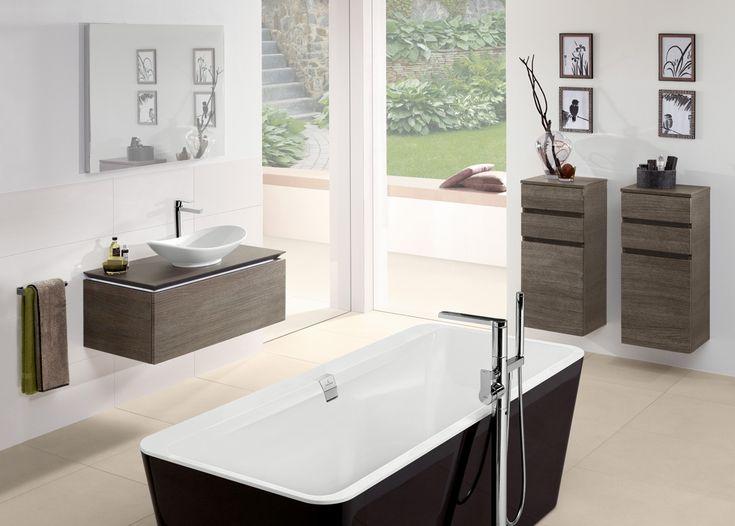 Pomysł na wyposażenie łazienki Villeroy & Boch Legato