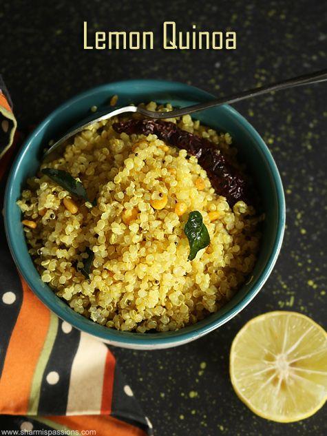 lemon quinoa recipe