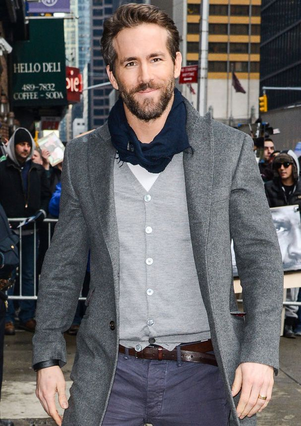 Ryan Reynolds. Proof beards are good. He's a little fratty--like a younger, less stoned McConnaughey. But as long as he doesn't talk and keeps the sprinkling of gray hair...