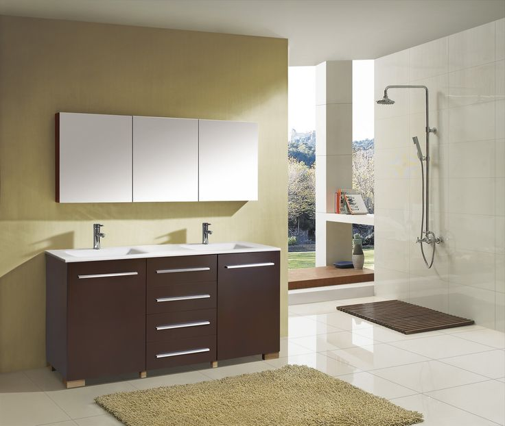 "17 Best Images About Vanities Double Sink 70"" & UP On Pinterest"