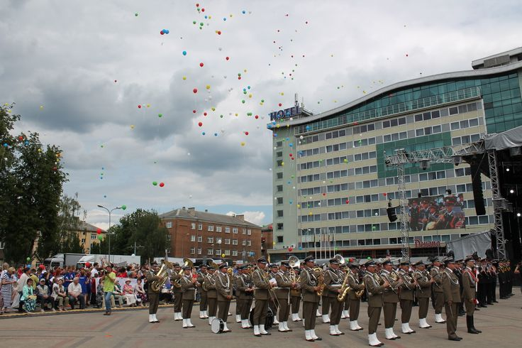 Фоторепортаж: праздник города Даугавпилс, 10 июня
