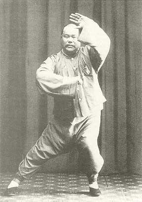 Yang Ch'eng-fu, founder of yang Tai chi, son of Yang Chien-hou and grandson of Yang Lu-chan