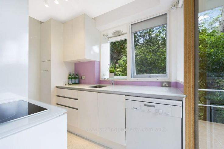 A crisp clean kitchen is just what home buyers are looking for