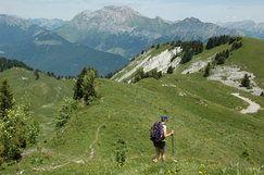 TOUR DES BAUGES - Randonnée dans les Alpes près de Chambéry sur 4 jours avec environ 5 heures de marches par jour