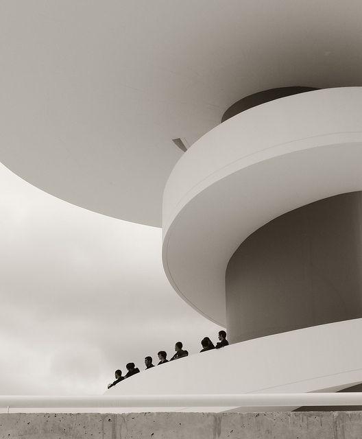 Niemeyer, Av5- Avilés, Spain by Foxmartin69