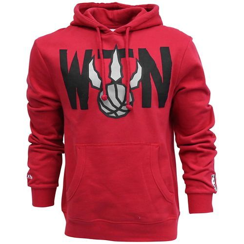 Mitchell & Ness We The North Pull Over - Men's - Basketball - Clothing - Toronto Raptors - Red/Black